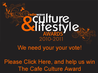 Radio Wave - Culture & Lifestyle Award - Vote for Elegance of Blackpool to win the Cafe Culture Award